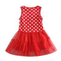 Fashion Baby Girls Dress Up For Girl Lace Princess Dress RED Kid Wear All For Children