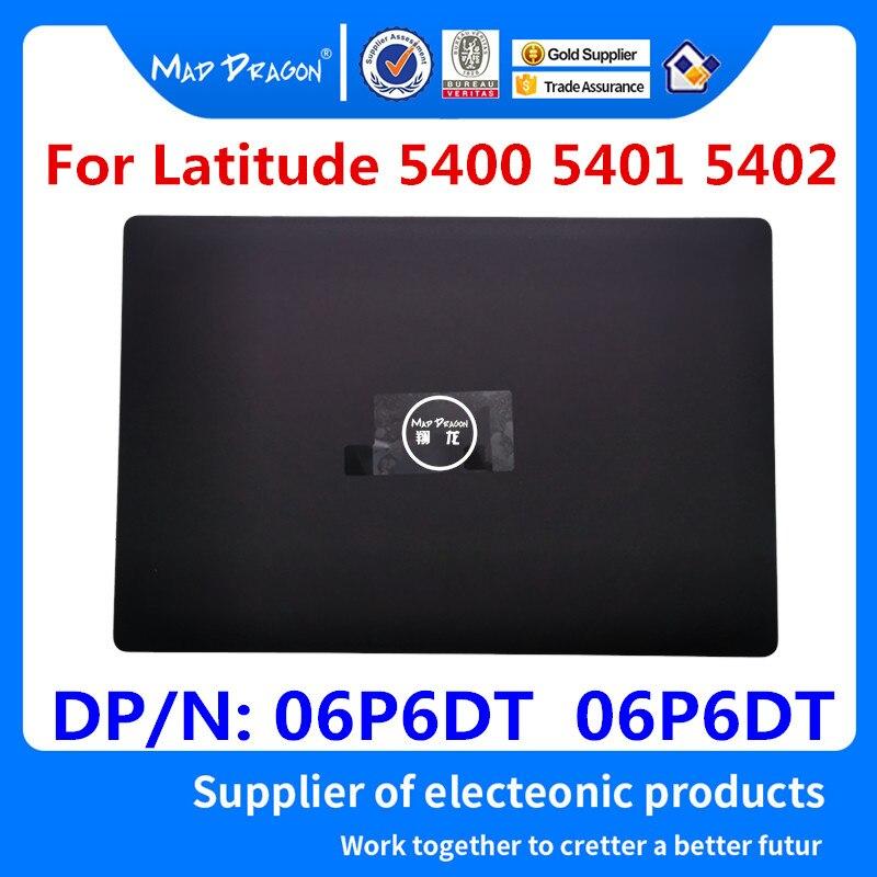 MAD DRAGON marque ordinateur portable nouveau LCD couverture arrière couvercle arrière Top Case noir pour Dell Latitude 5400 5401 5402 06P6DT 06P6DT AP2FB000604