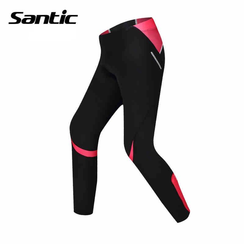 Santic MTB Cycling Pants Bicycle Bike Downhill Pants Women Trainers Cycling Tight Pants L5C05058P цена 2017