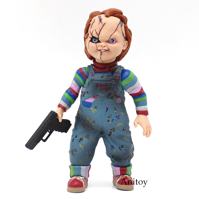 Image 5 - Child's Play Bride of Chucky  1/10 Scale Horror Doll Chucky PVC Action Figure Toy 12cm-in Action & Toy Figures from Toys & Hobbies
