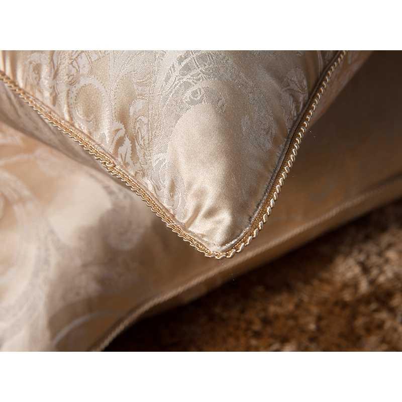 100% Murbei Sutra Tempat Tidur Bantal/Mewah Rose Gold Kepala Sleepping Bantal Mengisi Bahan Alami Gaya Eropa Kapal Gratis