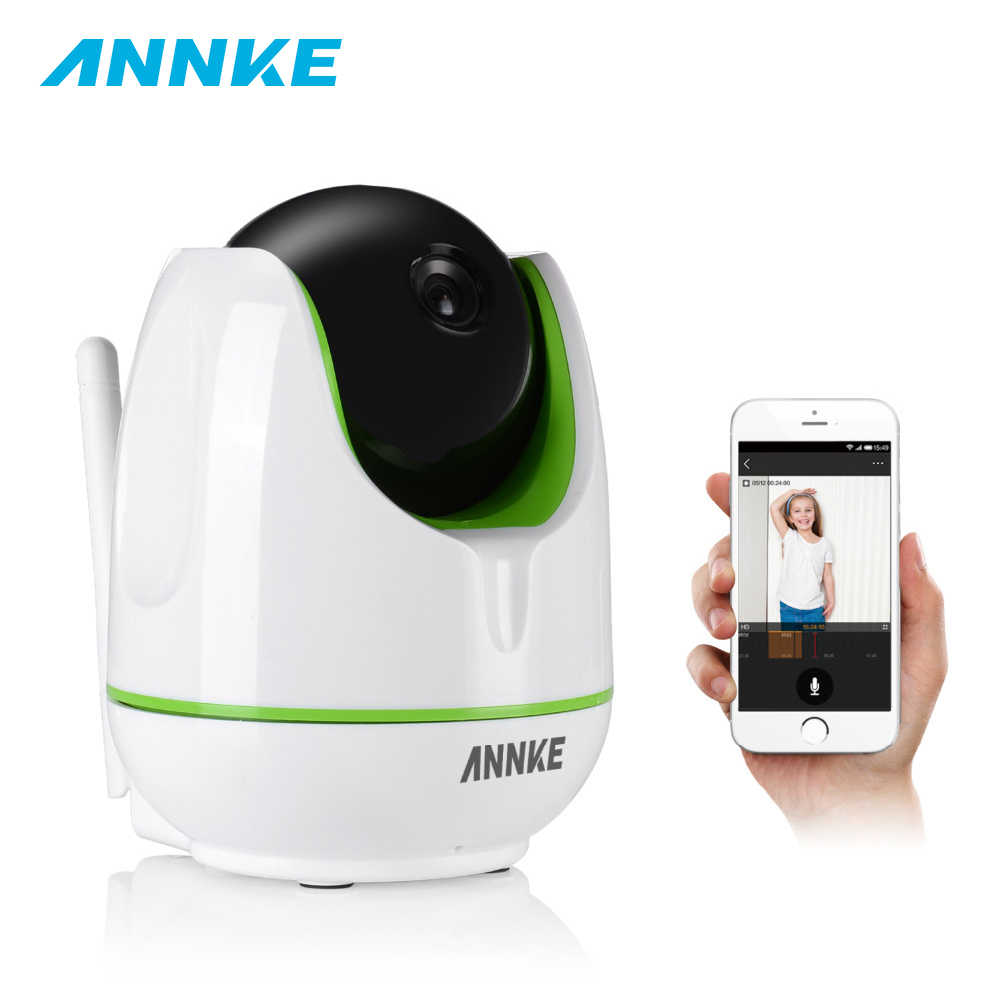 ANNKE EU Clearance HD 960P 1.3MP Smart Wireless WiFi PT IP Security Camera Network IR Night Vision Baby Monitor High- Resolution