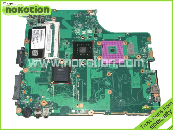 NOKOTION Laptop mainboard For Toshiba Satellite A300 A305 motherboard Intel GM45 DDR2 V000126550 6050A2169901 k000055760 laptop motherboard for toshiba satellite a200 a205 iskaa la 3481p rev 2a intel gl960 ddr2 without graphcis slot