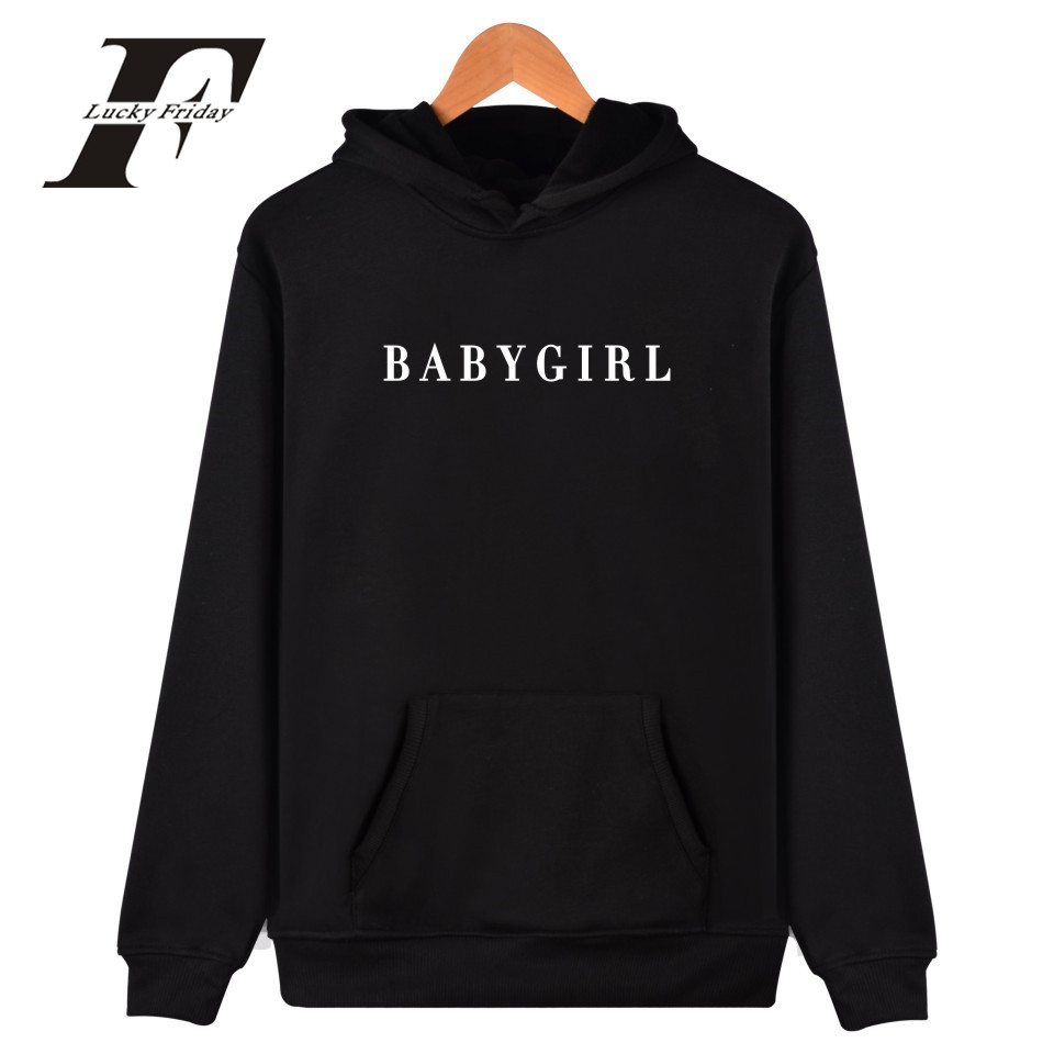 2017 BABYGIRL Harajuku oversized Sweatshirts And Hoodies survetement femme Women/Men Bra ...