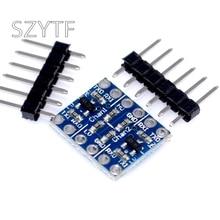 5PCS 2ช่องIIC I2CตัวแปลงระดับลอจิกBi Directional Module 5V To 3.3V