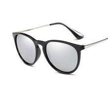 Fashion Men Women Sunglasses Polarized Cool Eyeglasses Silver Color Driver Goggles UV400