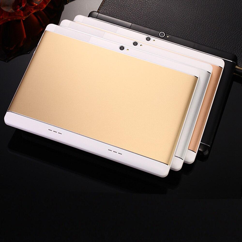 2018 Date 10.1 Pouce tablet pc Android 7.0 octa base 3G téléphone Appelant 4 GB RAM 64 GB ROM MTK8752 GPS Bluetooth Comprimés pcs