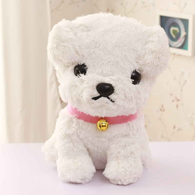 new creative plush big head dog toy high quality sitting white dog doll  gift about 40cm велосипед corvus corvus bmx 3 7 2013