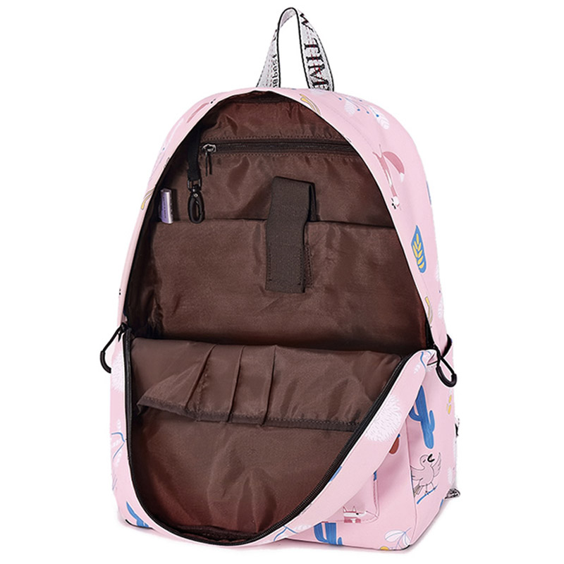 5a9f2e78d7 WINNER Cute Fox Backpack Waterproof Middle School Girls Backpack Pink High  Quality Laptop Books Bag Mochila 2018-in Backpacks from Luggage   Bags on  ...