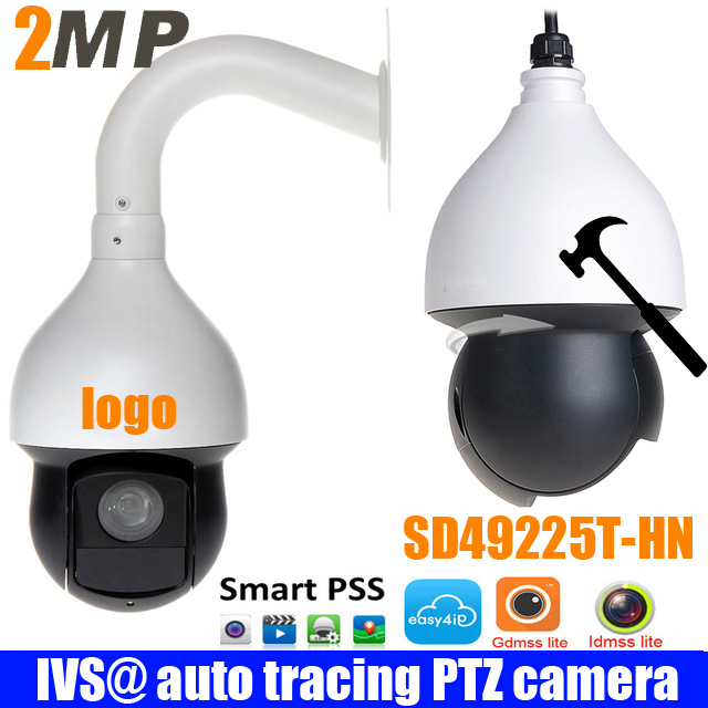 Original english 2MP 25x Starlight IR PTZ Network Camera SD49225T-HN PTZ Speed Dome Camera DH-SD49225T-HN DHI-SD49225T-HN camera bear ddg d10g1 electric slow cooker white porcelain 100w mini fully automatic baby soup pot bird s nest stew pot light yellow