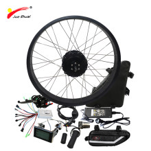 Free Shipping 1000W Electric Bike Conversion Kit with 48V 20ah Triangle Lithium Battery 4.0 Electric Snow Bike Kit 1000W 48V(China)