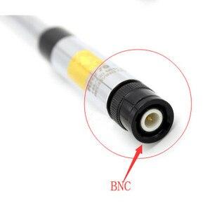 Image 5 - Deux segments 144/430 MHZ antenne à gain élevé tige de traction pour ICOM IC V85 IC V80 IC V8 par kenwood TK308 talkie walkie