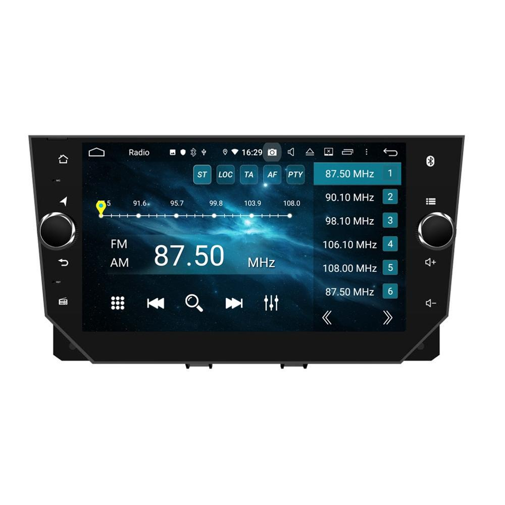 DSP 8 Core PX5 4GB+64GB Android 9.0 Car Stereo <font><b>Radio</b></font> DVD GPS Head Unit for <font><b>SEAT</b></font> <font><b>Ibiza</b></font> <font><b>2018</b></font> 2019 Bluetooth 4.2 WIFI Mirror link image