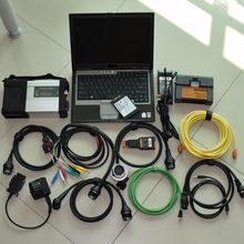 mb star c5 for bmw icom a2 b c 2in1 software ssd 1tb in one laptop D630 ram 4g diagnostic tool expert mode ready to work