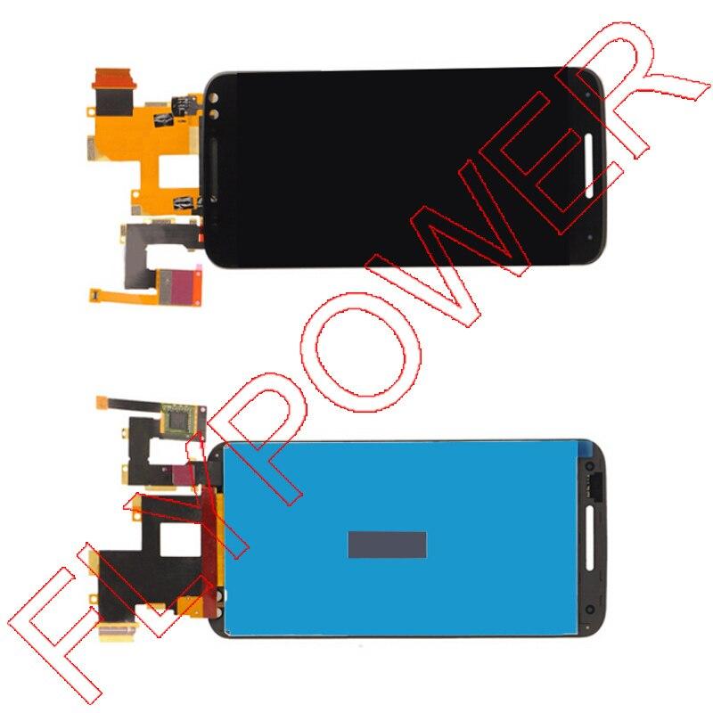 Pour Motorola Pour Moto X Style X3 XT1575 XT1572 XT1570 LCD Display + Écran Tactile Digitizer Assemblée Livraison Gratuite; 100% garantie