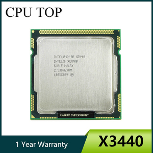 Intel Xeon X3440 Quad Core 2.53GHz LGA 1156 8M Cache 95W Desktop CPU I5 650 i5 750 i5 760