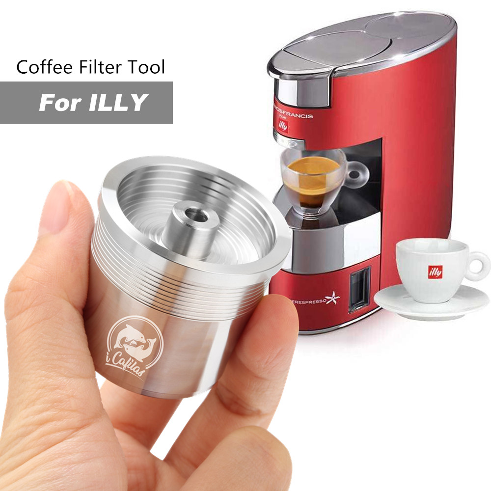 Stainless Steel Reusable Coffee Capsule Filter Metal IperEspresso Capsule Pods For Illy Francis Machines Espresso Coffee Tools