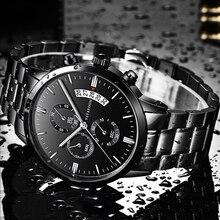 Men Sports Watches Top Brand Luxury Business Waterproof Wristwatch Relojes 2019 Watch Men Fashion Quartz Clock Relogio Masculino