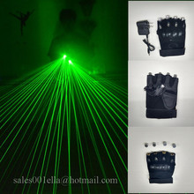 Green Laser Gloves With 5 Pcs Lasers For Event & Party Supplies Led Hand Laser Man Show Stage Gloves