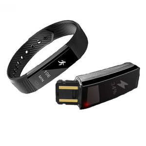 Image 4 - ID115 умный Браслет, счетчик шагов, фитнес SmartBand Вибрационный браслет будильник pk ID107 fit bit miband2 часы с сердцем