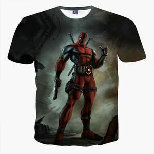 Summer clothing Deadpool 3d t shirt size Children s T-shirt 6f48e01f62e8