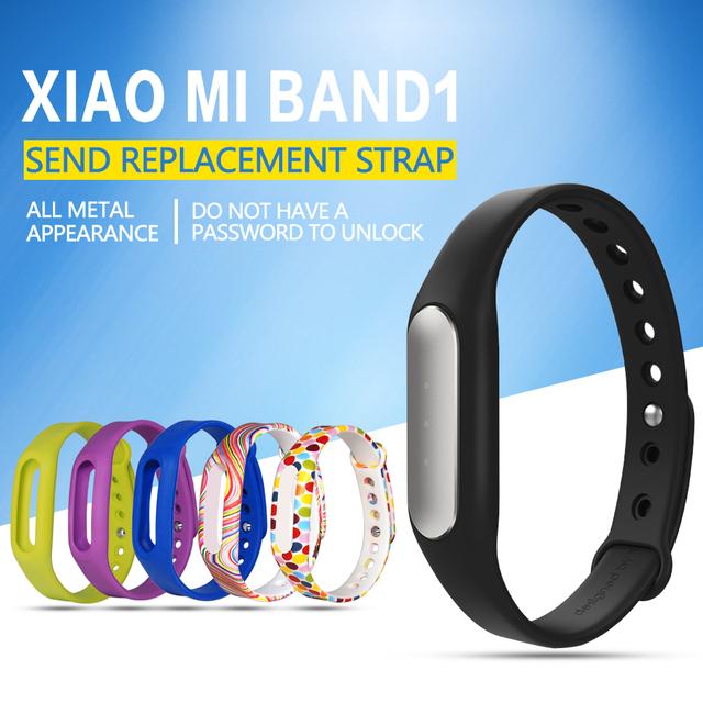 Xiaomi mi banda pulseira 1 pulseira sono monitor ip67 à prova d' água bluetooth 4.0 xiaomi mi banda xiaomi