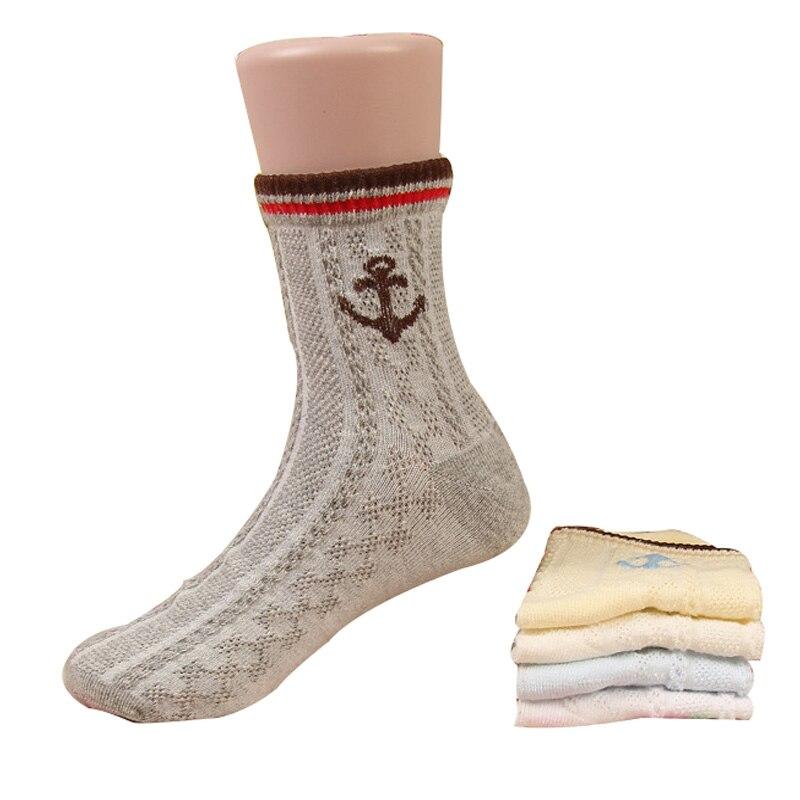 5 Paare/los Kinder Socken 2017 Frühjahr/sommer Cottonship Speer Design Muster Kinder Socken 1-12 Jahre Jungen Socken