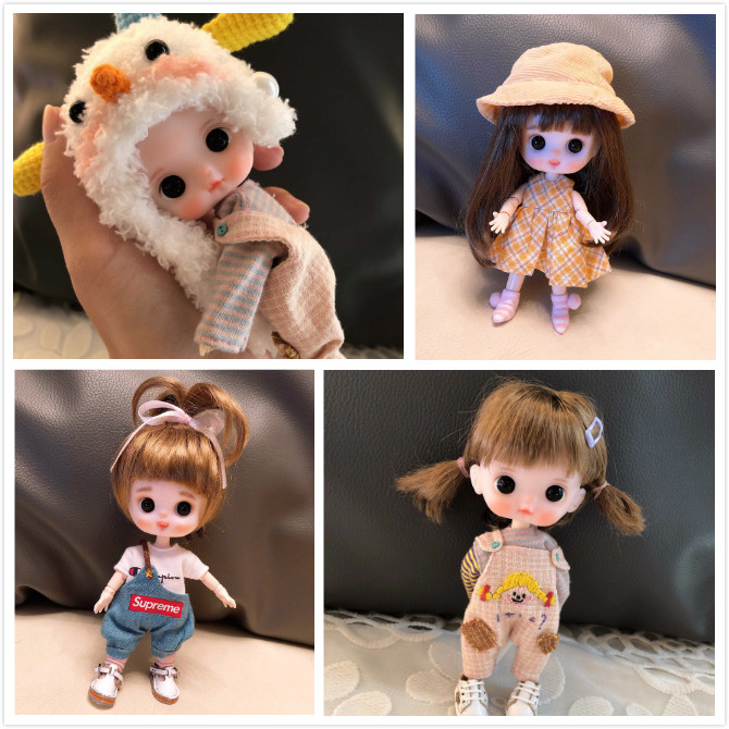 Oyuncaklar ve Hobi Ürünleri'ten Bebekler'de OB11 El Yapımı bebek özelleştirme bebekler Mini Bebek sevimli bebek'da  Grup 1