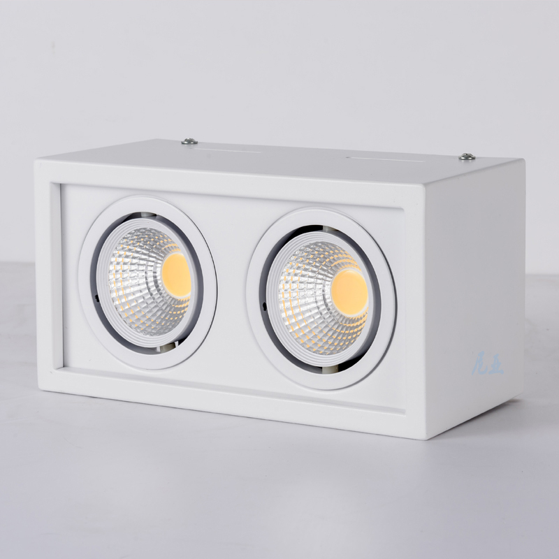 20w Led Surface Mounted: 1pcs COB LED Downlights10W 20W Surface Mounted Dimmable
