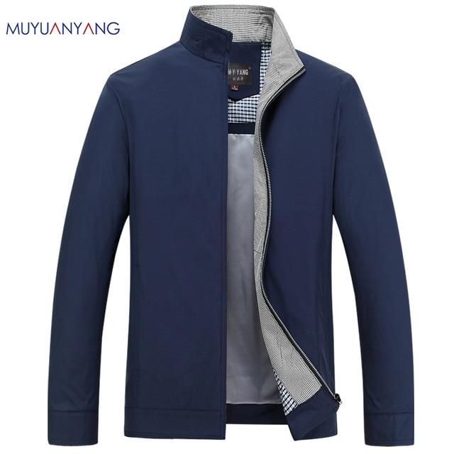 spesso Giacca uomo Primavera 2017 Business Casual Collare Del Mandarino  SI43