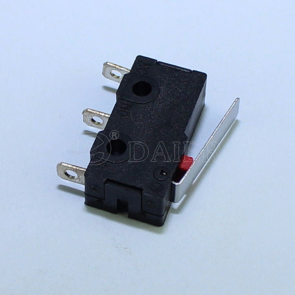 Lights & Lighting 125vac 5a Short Straight Hinge Lever Miniature Microswitch 3-pin Spdt