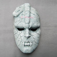 Stone Mask JoJo Ghost Full Face Resin Mask Wall decorations Comics Adventures Gargoyle Embid Theme Masks Halloween Party Props