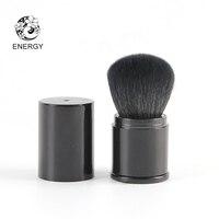 ENERGY Brand Professional Large Retractable Blush Powder Kabuki Brush Goat Hair Make Up Makeup Brushes Pinceaux