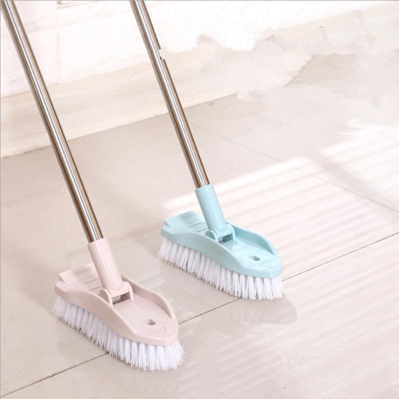 Telescopic Cleaning Brush Long Handle Floor Brush Cleaning Supplies Brush Plastic Bristles Bathroom Brush Tile Cleaning Brushes Aliexpress