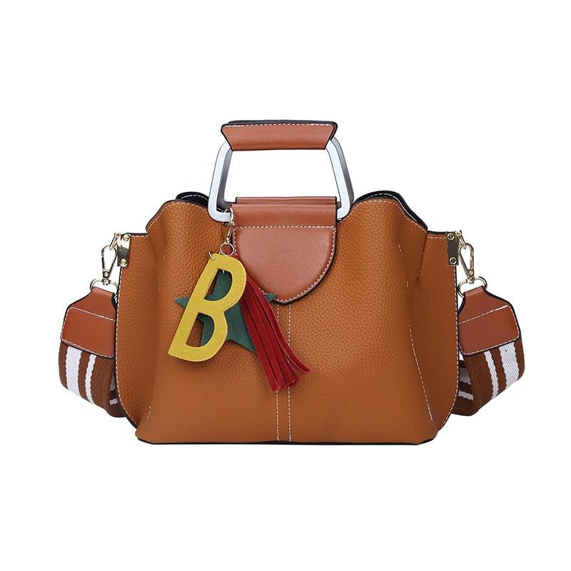 women bag Autumn and winter new fringed female bag fashion ladies shoulder bag trend wild simple Messenger bag aliwilliam bag female 2017 autumn new