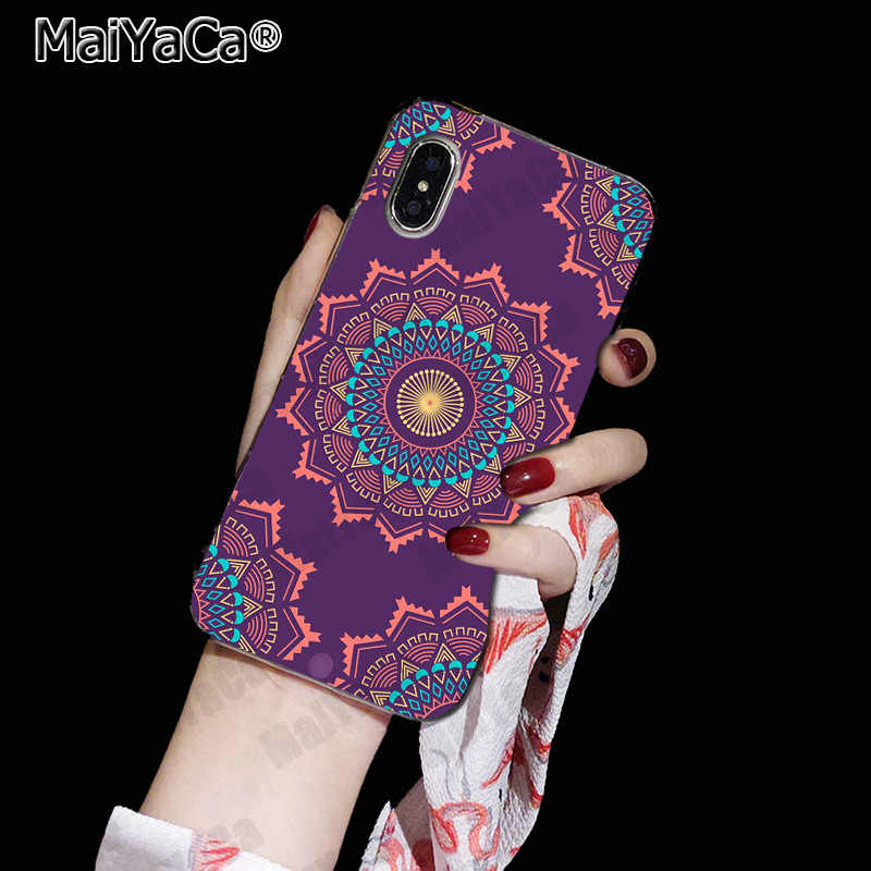 Maiyaca 曼荼羅の花に販売! Iphone se 2020 11 プロ 8 7 66 s プラス x 10 5 s 、 se xs xr xs 最大 coque シェル