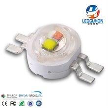 4 контакта белый желтый два цвета высокой мощности светодиодный Диод