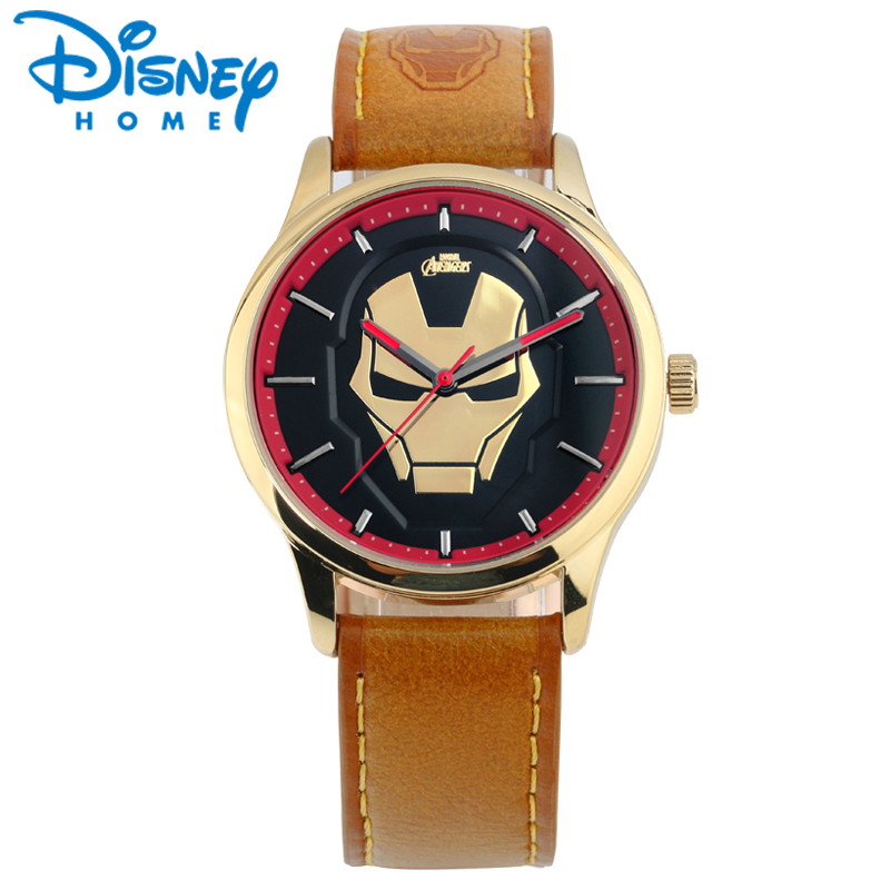 DISNEY Fashion Mens Wristwatches Top Brand Luxury Leather Quartz Watches Men Luxury Cool Sports Watch for Man Hodinky Male Clock new listing yazole men watch luxury brand watches quartz clock fashion leather belts watch cheap sports wristwatch relogio male