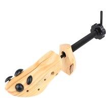 2Pcs יוניסקס נעל עץ עץ מחזיק Shaper Keeper אלונקה לנשים גברים נעלי M EU39 41