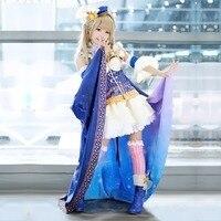 Japanese Anime Love Live Cosplay Costume Nozomi LoveLive Cosplay Constellation Awakening Costume Starry Dress Halloween Costume