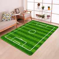 Kreative Fußball Bereich Print Teppiche Tapetes Front Eingang Tür Boden Matte Fußmatte Bape Teppich für Bad Küche Wc
