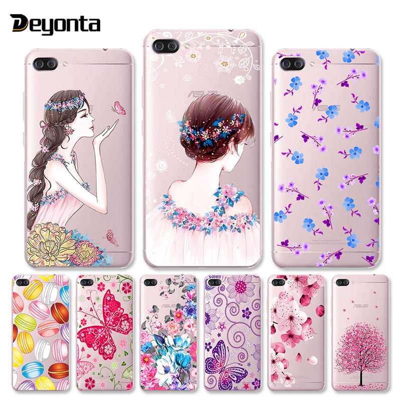 Transparent Painted Case <font><b>Huawei</b></font> <font><b>Y7</b></font> Y6 2019 Case Silicone Soft Back Cover For <font><b>Huawei</b></font> P Smart <font><b>2018</b></font> 2019 Coque Back Protective Capa image