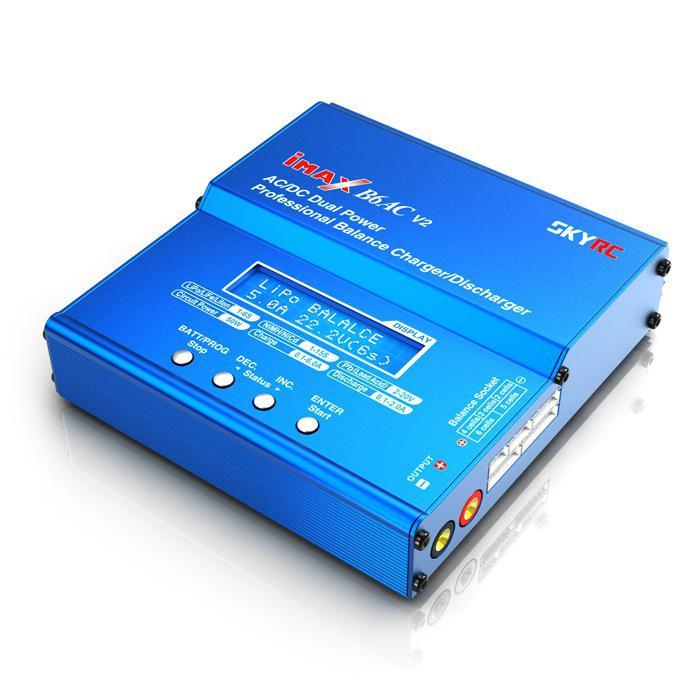 LeadingStar SKYRC iMAX B6AC V2 Lipo Battery Balance Charger LCD Display Discharg