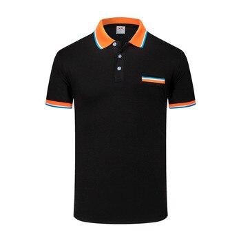 88a8b383822 Camiseta Polo Hombre con bolsillo de manga corta de algodón para hombre Polo  sólido Inglaterra hombre Slim Fit Casual moda verano Camisetas Tops marca