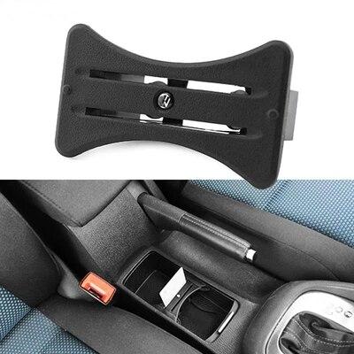 Para VW Golf GTI MK6 R20 2008-2012 Novo suporte de Copo do carro Titular do Cartão Coin Slot Centro Console de Queda Livre grátis
