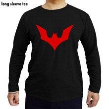 a505cee3 Batman Beyond Symbol Licensed Comics Adult Shirt shubuzhi t shirt man  cotton tshirts long sleeve top