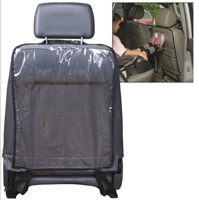 Car Seat Back Cover Baby Toddler Anti Kick Mat Back Seat Protection ...