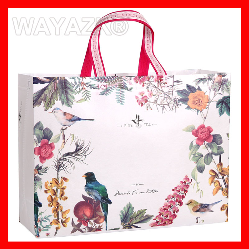 "(100pcs/lot) W44xH32xD10cm(17.6x12.8x4"") large shopping bag"
