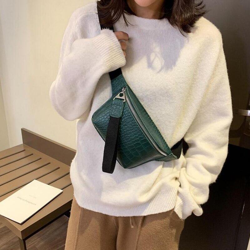 CROWDALE di coccodrillo Donne borsa multicolore sacchetto del messaggero petto femminile frizione Dell'unità di elaborazione borsa di cuoio di cross body bag di Modo di alta qualità