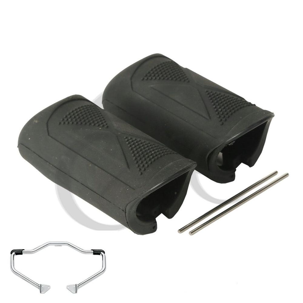 Motorcycle 1 1 4 quot Engine Guard Rubber Peg For Harley Sportster XL 883 1200 04 16 Dyna Wide Glide EFI in Covers amp Ornamental Mouldings from Automobiles amp Motorcycles
